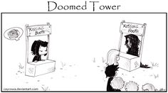 Good Ol' Charlie Brown never had these problems. ---- Doomed Tower <----Previous * Archive * Next----> DT - Over my dead body. Harry Potter Comics, Harry Potter Anime, Severus Snape, The Marauders, Coraline, Animals And Pets, Anime Art, Fan Art, Deviantart