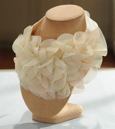 I Spy DIY petal bib necklace/turban