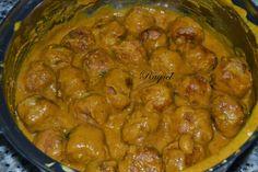 Mi Diversión en la cocina: Albóndigas en Salsa de Naranja