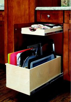 Pull Out Tray Bin - Home and Garden Design Ideas