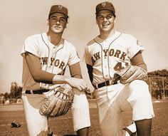 Nolan Ryan and Tom Seaver, New York Mets, 1969