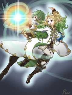 Robin and Tactician Nowi Galeforce Attack!