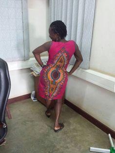 short African dress
