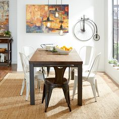 Features:  -Un-planed surfaces are lightly sanded to preserve natural depth variances and saw marks from the milling process.  -Matte NC lacquer top coat.  -Table surface stable enough to prevent item