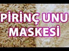 Cildinizi Beyazlatın ve Parlatın Pirinç Unu Maskesi - YouTube