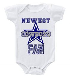 NEW Football Baby Onesie Creeper NFL Dallas Cowboys