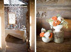 marshmallow chandelier pretties
