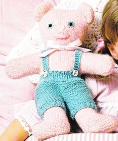 Tuto: Ours au tricot Crochet, Dinosaur Stuffed Animal, Teddy Bear, Toys, Blog, Steamer Trunk, Animaux, Paper Pieced Patterns, Crochet Hooks