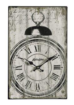 Elevenfy | Wanduhr Wecker  Landhaus Uhr Nostalgie Uhr Neu