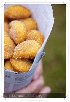 Mi dulce tentación: Buñuelos de Boniato