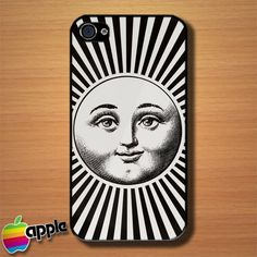 Sun Fornasetti Custom iPhone 4 or 4S Case Cover #iphone4 #Case #cover #Fornasetti