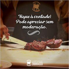 Imagine aquela carne quentinha, saborosa que você tanto ama. Ao invés de imaginar, que tal vir pra cá? Estamos te esperando! #Churrasco #Almoço #CompanhiaDoChurrasco #CiaDoChurrascoFortaleza #IguatemiFortaleza