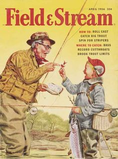 Field And Stream 2004 Calendar Various Magazine Covers Reproduced Man Cave Art Lucky Luke, Outdoor Life Magazine, Fishing Magazines, Man Cave Art, Fishing Photos, Catalog Cover, Photo Store, Vintage Fishing, Magazine Art