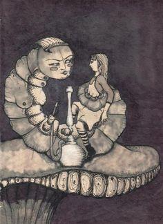 Alice in Wonderland, illustrated by Polina Zaitseva