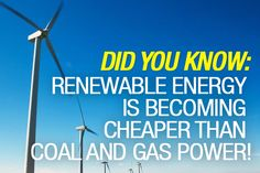 #Renewable energy is the answer to our global energy crisis - here's why wind power is our future!