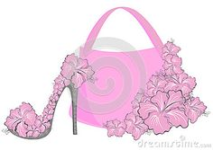 purse & high heel
