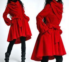 wool coat (043). $138.00, via Etsy.