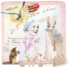 A fashion look created by ragnh-mjos featuring . Browse and shop related looks. Paper Art, Happy Birthday, Teddy Bear, Fashion Looks, Polyvore, Animals, Design, Women, Happy Aniversary