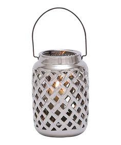 Loving this Gray Ceramic Short Candleholder on #zulily! #zulilyfinds