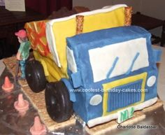 Cake pictures for birthdays coolest homemade construction vehicles cakes dump truck . cake ideas for baby shower boy dump truck Homemade Birthday Cakes, Cool Birthday Cakes, Birthday Ideas, Diy Birthday, Dump Truck Cakes, Monster Truck Birthday, Trucks And Girls, Cake Gallery, Baby Boy Shower