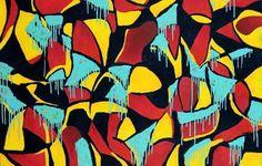 """Saatchi Art Artist eduardo jácome; Painting, """"Black Pop"""" #art"""