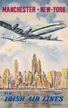 Aer Lingus - Manchester - New York / 1948