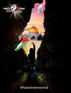 Jerusalem is the capital of the Palestinian state. Palestine History, Israel Palestine, Islamic World, Islamic Art, Islamic Sites, Terra Santa, Muslim Religion, Dome Of The Rock, Anime Muslim