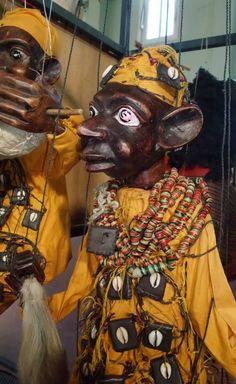 Marionnette à fils africaine