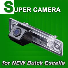 For Buick Excelle Car back up rear view parking reverse Cam Camera with Guide Line Sensor Security System Kit for GPS #Affiliate