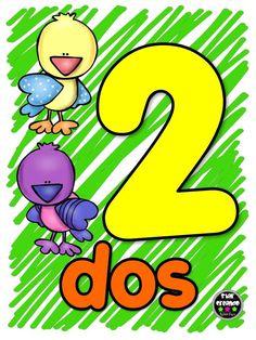 Dinosaur Preschool No Prep Worksheets & Activities Activities For 2 Year Olds, Preschool Learning Activities, Toddler Activities, Spanish Lessons For Kids, Spanish Teaching Resources, Math Bingo, Touch Math, 2 Kind, Alphabet Writing
