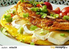 Ředkvičková omeleta recept - TopRecepty.cz Baked Potato, Macaroni And Cheese, Potatoes, Eggs, Baking, Breakfast, Ethnic Recipes, Food, Diet