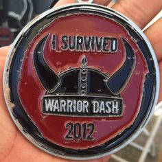 I survived Warrior Dash 2012 Medal - I have one that looks just like this!