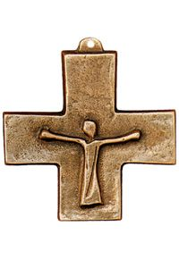 Bronze Gifts, Sacred Symbols, Religious Images, He Is Risen, Crucifix, Blacksmithing, Cross Pendant, Faith, Sculpture