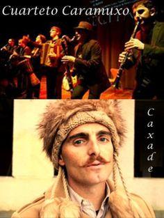Caxade + Cuarteto Caramuxo en Teatro Principal, Ourense folk #focusgalicia music musica concerto concierto