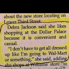 Dollar General vs. Walmart...