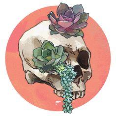 When in doubt, skulls.                                                                                                                                                     More