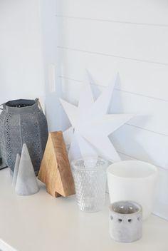 House No. 43: Winterdekorationen DIY Windlicht mit Salzkristallen
