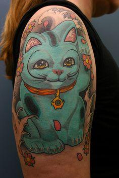 Lisa's very lucky cat by Filip Leu by DavidBragger, via Flickr
