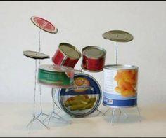 Atık malzemelerle müzik aleti yapımı