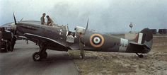 Spitfire with obvious signs of usage around the cockpit area