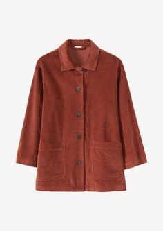 Ikat jackets, wrap jackets, smart jackets, workwear jackets, indigo denim jackets and wool coats. Classic Trench Coat, Suede Coat, Corduroy Jacket, Simple Outfits, Coats For Women, Fashion Brand, Work Wear, Jackets, Clothes