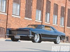 1965 Buick Riviera #Cars #Speed #HotRod    Billet Grill, one piece windows