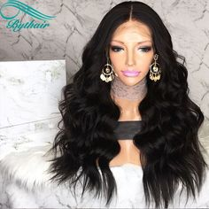 Self-Conscious Sleek Curly Human Hair Wigs Water Wave Wig Part Lace Short Human Hair Wigs For Black Women Ombre Blonde Blue Cheap Perruque Part Lace Wigs