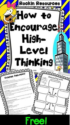 Gifted and Talented-GT- Free Resource! What is an effective way to get your students thinking at a deeper level? Let me share what works well for my students on a blog post at Minds in Bloom!  After you read the post and think it will fit well with your class, there will be a link to download it for free!