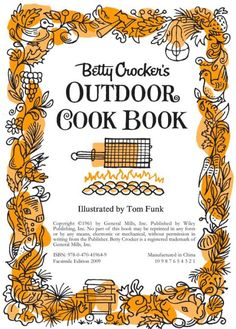 tom funk illustrations-i bought this cookbook because of tom funk.  i've ended up loving lots of the recipes