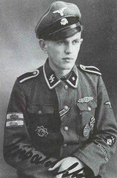 SS-Unterscharführer Ewald Ehm