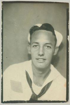 photobooth man in sailor uniform | Flickr - Photo Sharing!