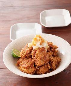 鶏のごまから揚げ おろしポン酢