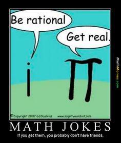 Math Meme - Get Real