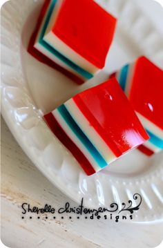Five Layered Jello-t